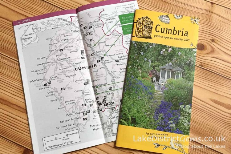 The National Garden Scheme 2019 guide for Cumbria
