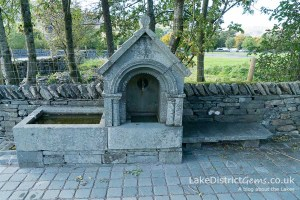The Drinking Fountain on the A591 outside Grasmere