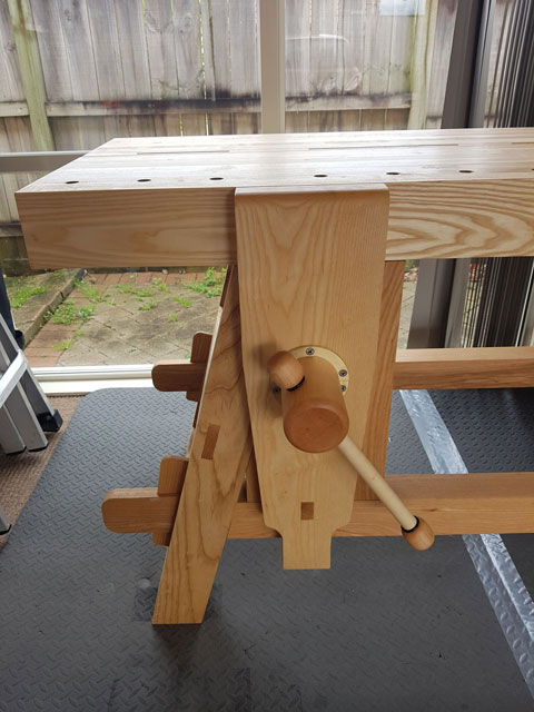 Building The Portable Moravian Workbench