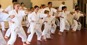 Adults and children can all benefit from Shotokan Karate practice