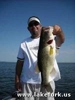 Jason with Lake Fork guide Jason Hoffman