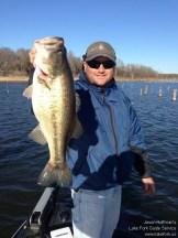 Lake Fork Picture | Big Bass Photo | Jason Hoffman