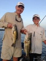 Lake Fork Picture | Carl and son | Double