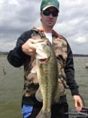 Lake Fork Picture | Big Bass Photo | Sean