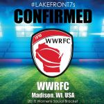 2018 WWRFC, Madison, WI, USA