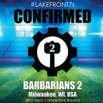 2018 Barbarians 2, Milwaukee, WI, USA