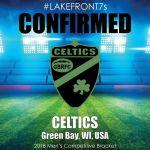 2018 Celtics, Green Bay, WI, USA