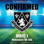 2018 MRFC 1, Milwaukee, WI, USA