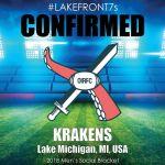 2018 Krakens, Lake Michigan, MI, USA