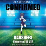 2018 Banshees, Hammond, IN, USA