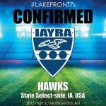 2018 Hawks, Iowa Select-side, USA