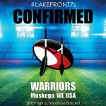 2018 Warriors, Muskego, WI, USA