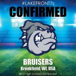 2018 Bruisers, Brookfield, WI, USA