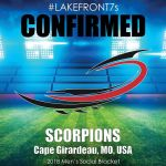 2018 Scorpions, Cape Girardeau, MO, USA