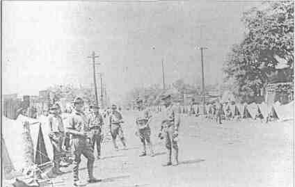 State militia called in during the Riot. Courtesy Illinois Periodicals Online.