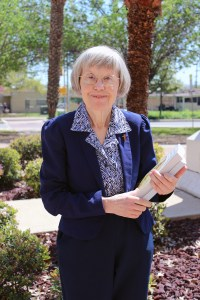 Sister Margit Nagy, CDP, Ph.D., is originally from Hungary. She entered the aspirancy to become a sister at the age of 13. Since then, Providence has made her life exciting, she said. Photo by Astrid Villegas