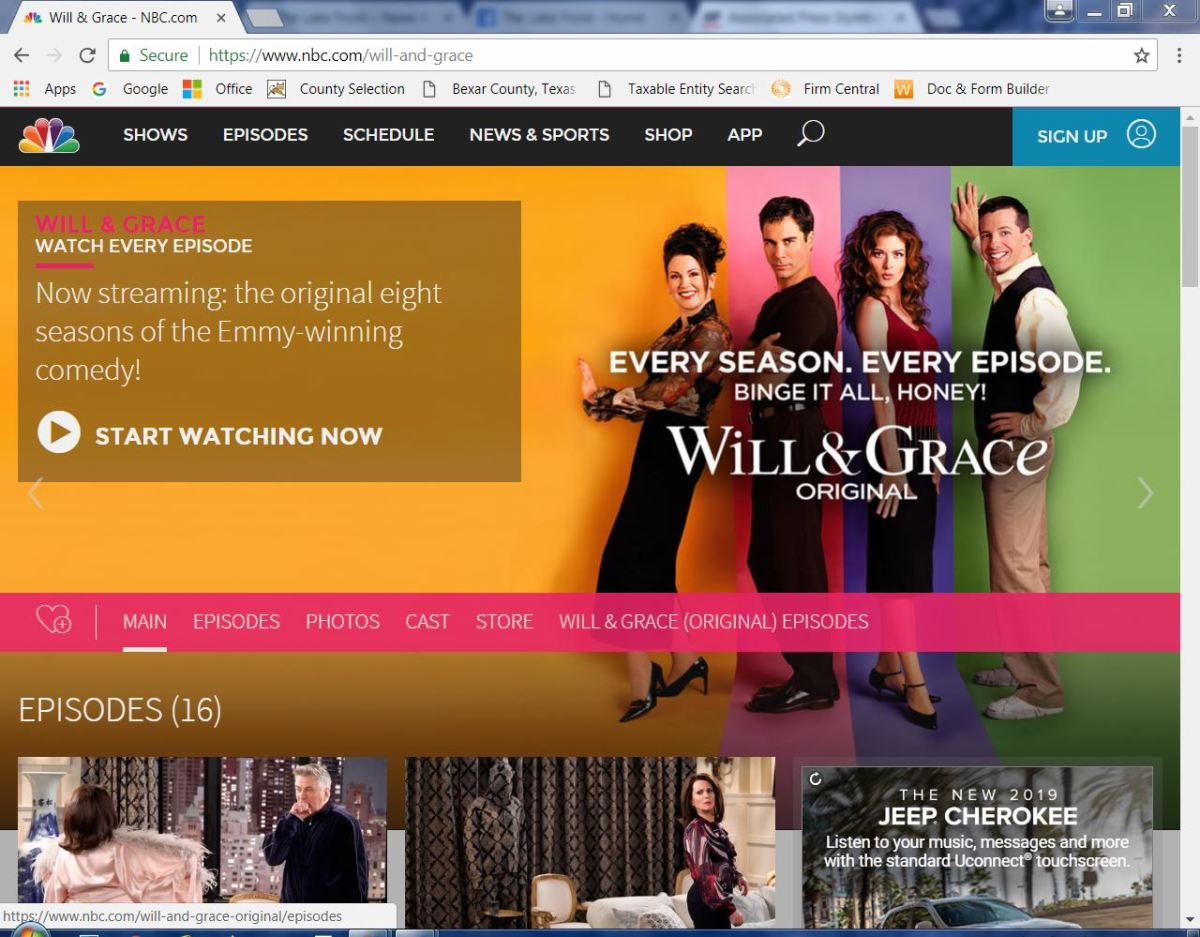 The Importance Of Will and Grace