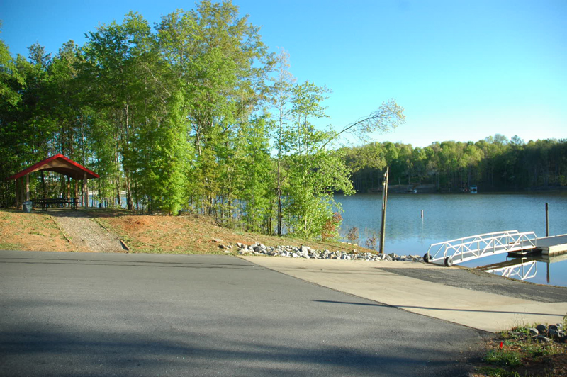 A boat landing and community park in Chesnee, SC.