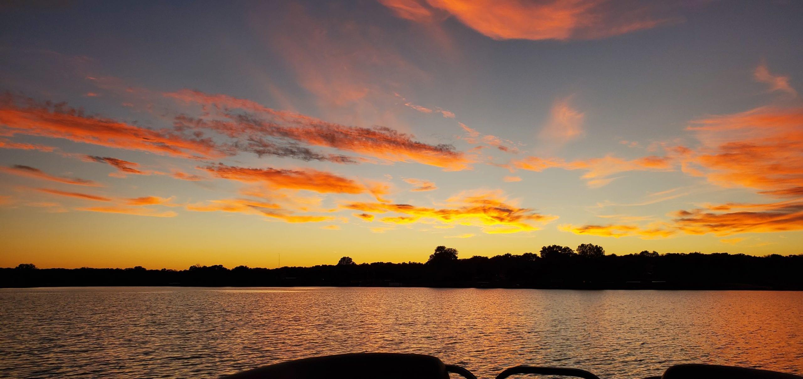 Lake Hiwassee - Sunset Image