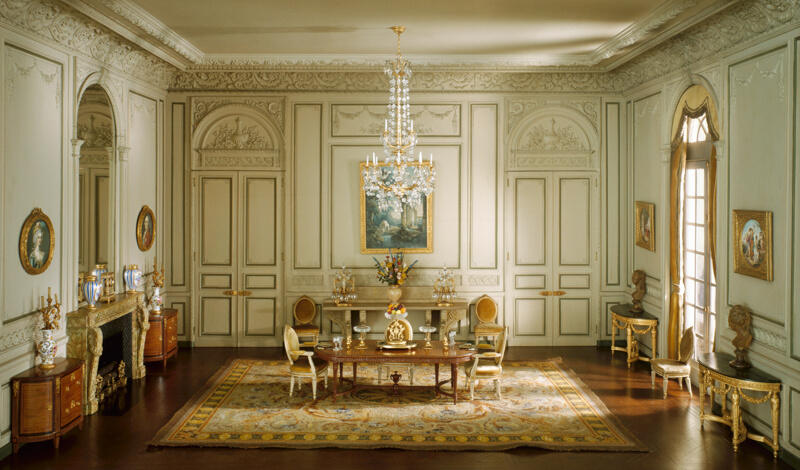E23 French Dining Room of the Periods of Louis XV and