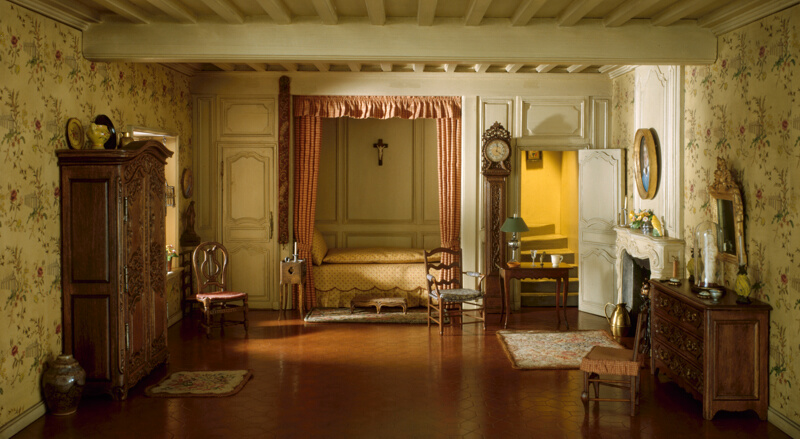 E 22 French Provincial Bedroom Of The Louis XV Period