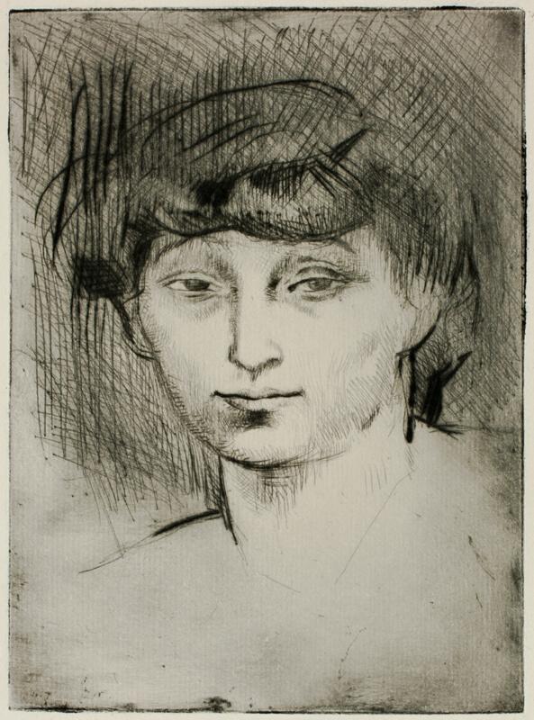 Portrait Of Fernande Olivier The Art Institute Of Chicago
