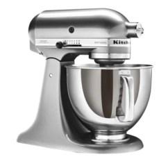 Kitchen Aid Silver How To Design A Layout Kitchenaid Artisan Stand Mixer 4 8l Lakeland