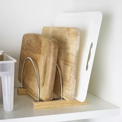 Chopping Board Organiser Storage Rack Holds Up To 8