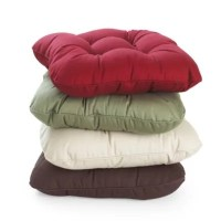 Kitchen Chair Cushion Leaf Green in throws and blankets at ...