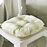 Soft Green Check Kitchen Chair Cushion in throws and ...