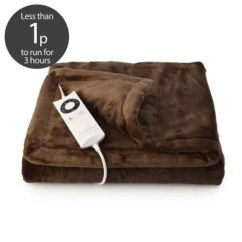 Cream Sofa Throws Uk Made To Order Sofas Relaxwell Electric Heated Throw Snuggler & Pockets | Lakeland