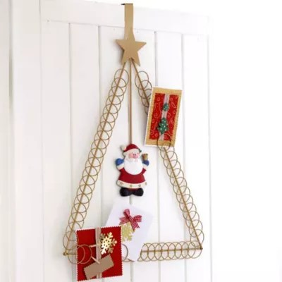 Santa Overdoor Card Holder Lakeland
