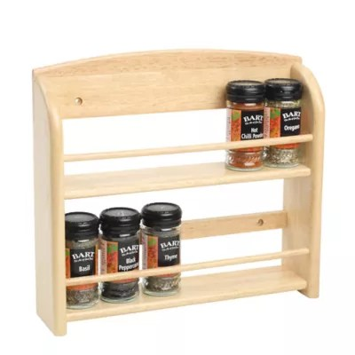 t g 12 jar wall mounted spice rack