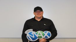 Raymond Scott, Fort Kent, won $50 million in August 7th LOTTO MAX DRAW