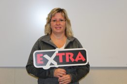 Jacqueline Wakaruk, Ardmore, won $100,000 in September 11th EXTRA draw
