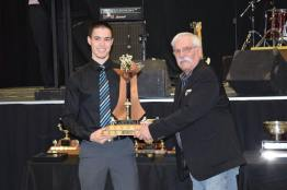 Rookie of the Year Award 2016 Derek Brown Photo Credit: Bonnyville Pontiacs on Facebook