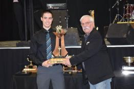 Rookie of the Year Award 2016 Derek Brown Photo Credit: Bonnyville Pontiacs on Facebook