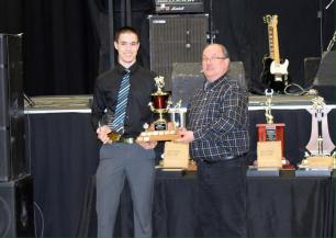Most Improved Player Award Derek Brown Photo Credit: Bonnyville Pontiacs on Facebook