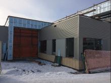 Construction at Two Hills Mennonite School