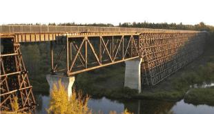 Beaver River Trestle closed to pedestrians