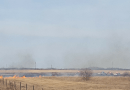 Crews work Fast to put out Two Grass Fires