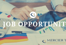 Job Opportunity: Mercier Tay Professional Accountants LLP