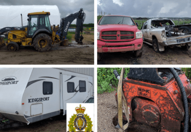 Cold Lake RCMP recover over $250,000.00 worth of stolen property