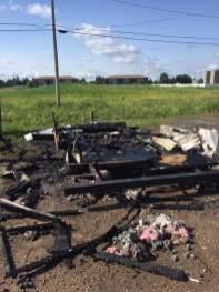 Banja Bar burnt