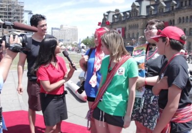 Four Indigenous youth get trip of a lifetime to Ottawa on Canada Day