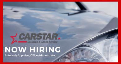 Employment Opportunity: Carstar Bonnyville – Office Administrator