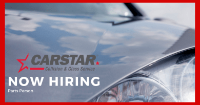 Employment Opportunity: Carstar Bonnyville – Parts Person