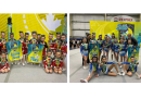Local clubs bring home cheer banners
