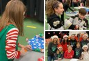 BCHS Santa's Elves wrap gifts for over 400 this Christmas