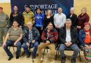 Portage Honours Community Partnerships with a Pipe Ceremony
